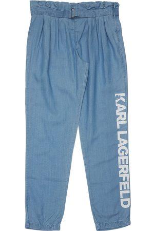 Karl Lagerfeld Mädchen Leggings & Treggings - Hose Aus Lyocell