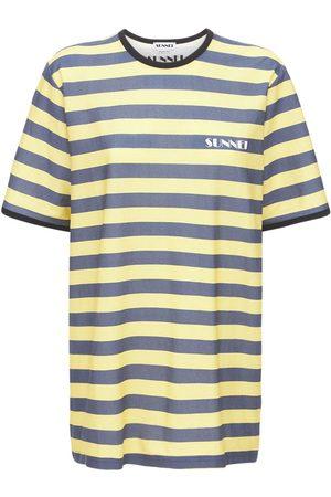 SUNNEI T-shirt Aus Baumwolljersey Mit Logo