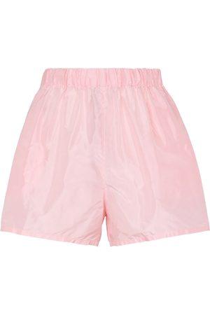 Prada Shorts aus Seidentaft