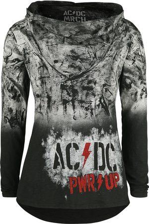 AC/DC Damen Longsleeves - PWR Paint Logo Langarmshirt