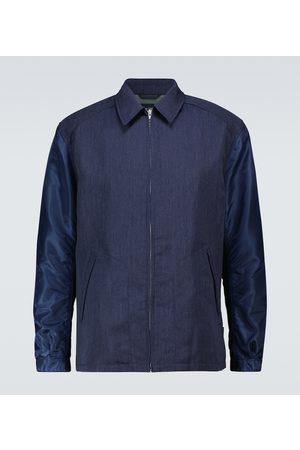 Comme des Garçons Hemdjacke aus einem Wollgemisch