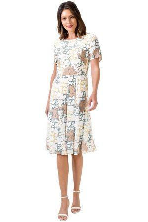 Alessa W Damen Kleider - A-Linien-Kleid »Druck-Kleid«