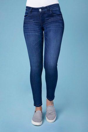 Blue Fire Skinny-fit-Jeans »Alicia« mit trendigen Fake-Paspeltaschen