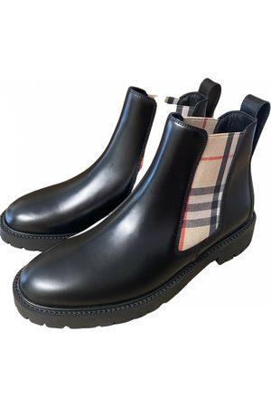 Burberry \N Stiefel in Leder