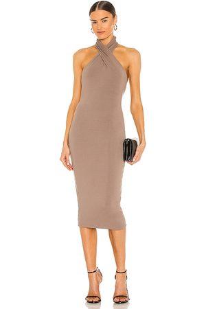 NBD Anju Midi Dress in . Size XXS, XS, S, M, XL.