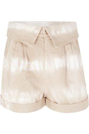 Stella McCartney Tie & Dye-Shorts Bamboo Safari