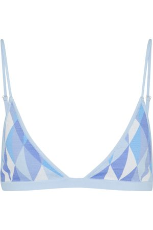 DODO BAR OR Bralette aus Jacquard-Strick
