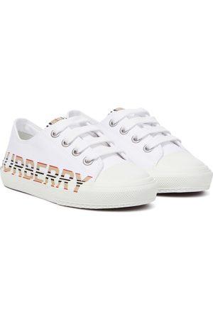 Burberry Sneakers Icon Stripe aus Canvas