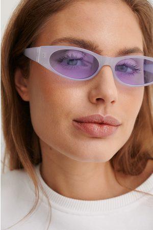 NA-KD Breit Sonnenbrille - Purple