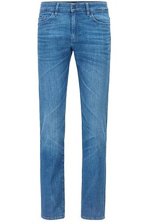 HUGO BOSS Slim-fit jeans in Italian denim with organic cotton