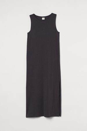 H&M Jerseykleid mit Schlitz