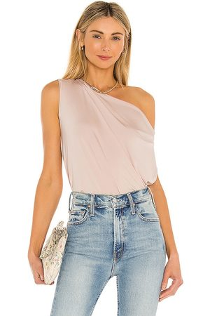 krisa Pleated Drape Top in . Size XS, S, M.