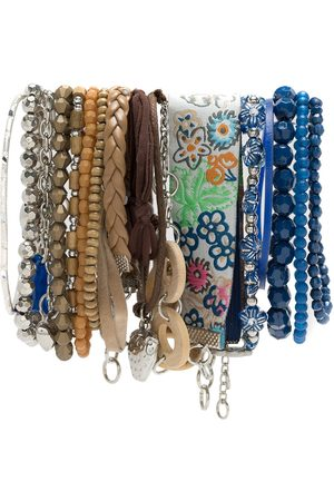 AMIR SLAMA Damen Armbänder - Armband-Set mit Anhängern