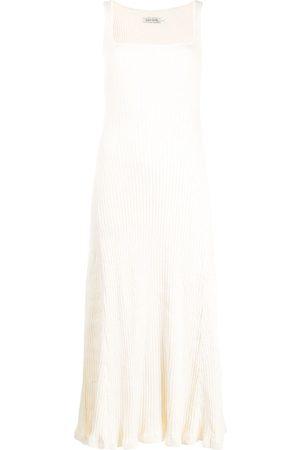 Anna Quan Geripptes Strickkleid