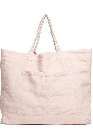 Once Milano Handtaschen - Shopper aus Leinen