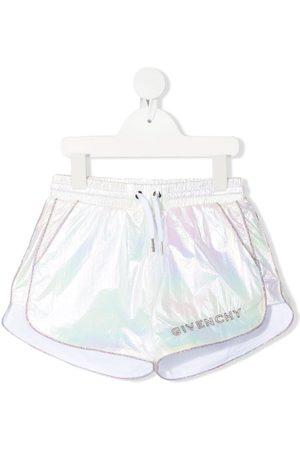 Givenchy Shorts mit Schimmer-Effekt