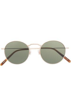 Oliver Peoples Herren Sonnenbrillen - Sonnenbrille mit rundem Gestell