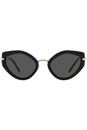 Miu Miu Artiste Sonnenbrille mit geometrischem Gestell