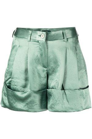 JEJIA Shorts mit Falten