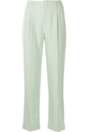 Ports V Damen Hosen & Jeans - Gerade Hose mit Falten