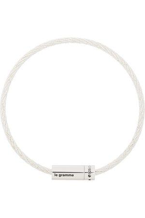 Le Gramme Poliertes Le 9g Armband im Kabeldesign