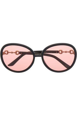 Gucci Eyewear Horsebit Jackie-O Sonnenbrille