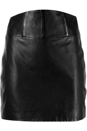 Michelle Mason Minirock aus Leder