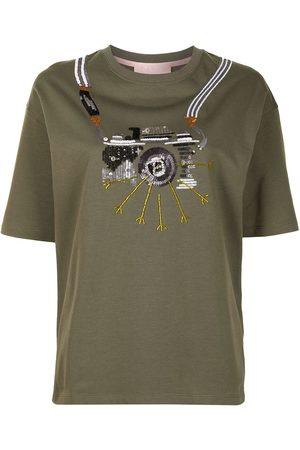 BAPY BY *A BATHING APE® T-Shirt mit Pailletten