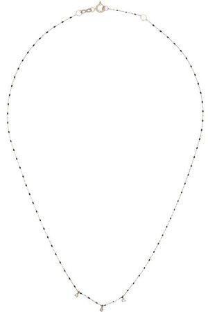 GIGI CLOZEAU Damen Halsketten - 18kt Goldhalskette mit Diamanten