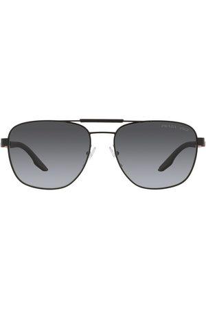 Prada Getönte Pilotenbrille