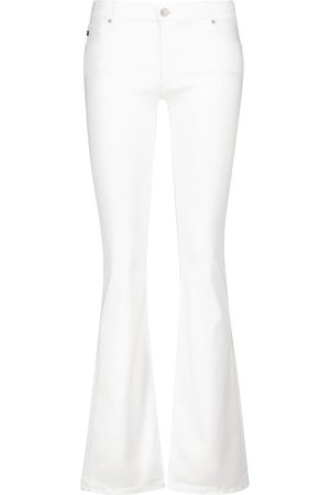 AG Jeans Mid-Rise Flared Jeans