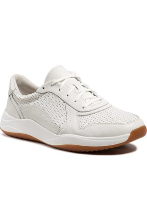 Clarks Sift Speed 261481307 White Leather