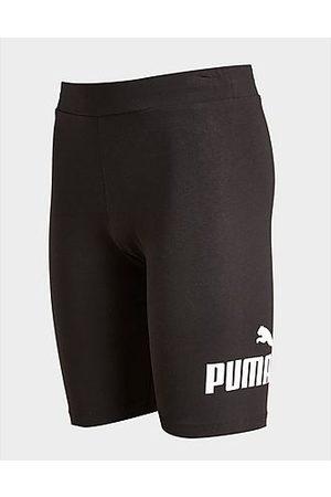 PUMA Girls' Essential Logo Cycle Shorts Kinder