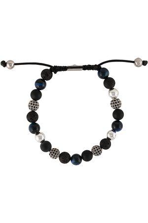 Nialaya Armband mit strukturierten Perlen