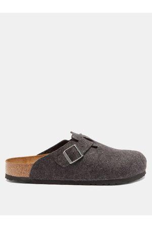 Birkenstock Herren Sandalen - Boston Buckled Wool-felt Sandals