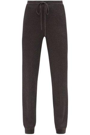 Missoni Ribbed Lurex-knit Track Pants