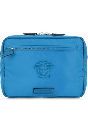 VERSACE Cobalt blue Medusa belt bag