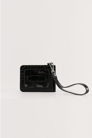 NA-KD Basic Luggage Tag - Black