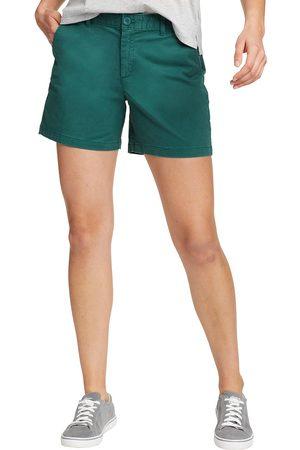 Eddie Bauer Legend Wash Willit Shorts - Slightly Curvy Damen Gr. 4