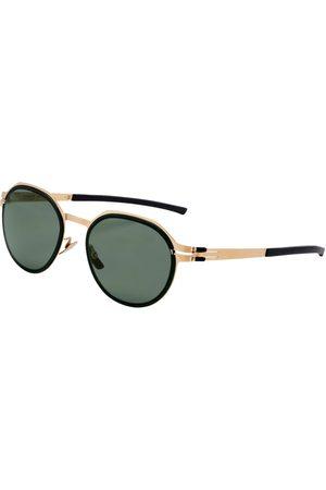 Mey & Edlich Herren Sonnenbrillen - Herren Sonnenbrille Blattgold onesize