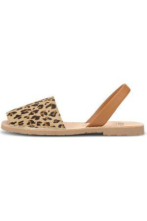 RIA Damen Sandalen - Riemchensandale Sandale in mittelbraun, Sandalen für Damen