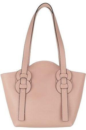 Chloé Damen Shopper - Tote Small Darryl Tote Bag Calfskin rosa