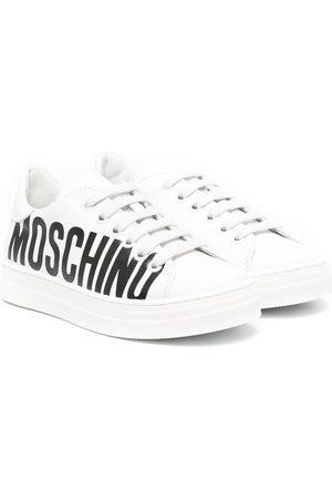 Moschino Sneakers mit Logo-Print
