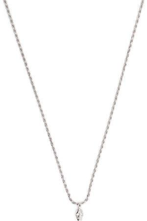 EMANUELE BICOCCHI Halskette mit Diamanten-Totenkopfanhänger