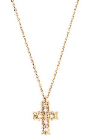 EMANUELE BICOCCHI Halskette mit Diamanten-Kreuzanhänger