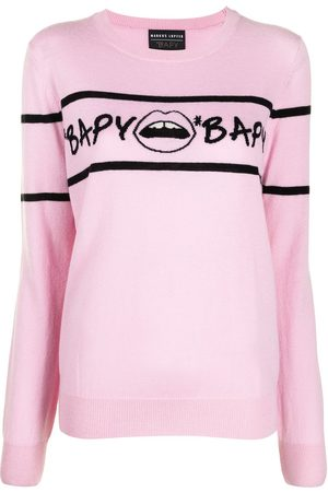 BAPY BY *A BATHING APE® Intarsien-Pullover mit Logo