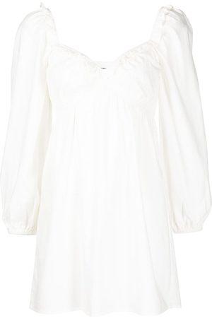 Reformation Damen Freizeitkleider - Kleid mit Puffärmeln