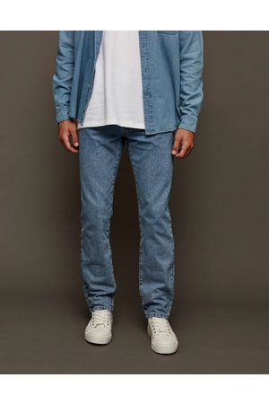 Topman – Straight Jeans in mittlerer Waschung