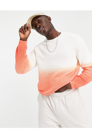 ASOS – Strickpullover im Dip-Dye-Design in