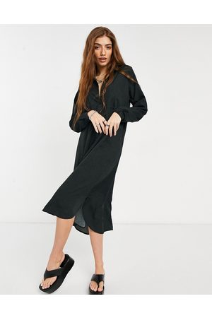 Vero Moda – Midi-Hemdkleid in